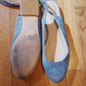 Madewell suede flats size 9